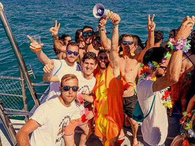 fiesta despedida en barco malaga